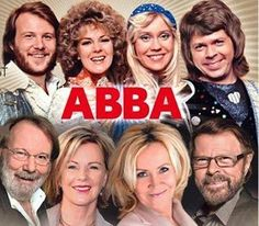 ABBA, Sweden (1972 - 1983) Benny Andersson, Anni-Frid «Frida» Lyngstad, Björn Ulvaeus & Agnetha Fältskog