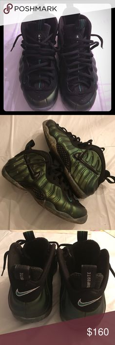 2668e4afee97ef Foamposite Green foams great condition Nike Shoes Sneakers