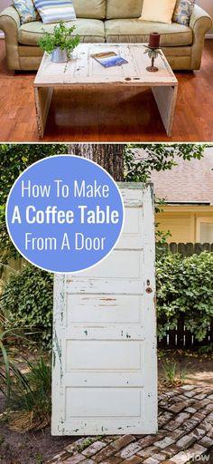 Coffee table Door coffee tables Doors and Coffee