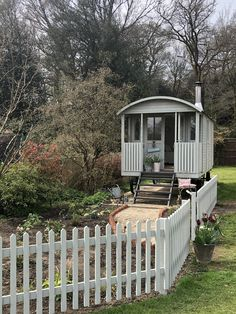 Beautiful Belle and The Cottage Garden - Part Three Canopy And Stars, Shepherds Hut, Most Beautiful Gardens, She Sheds, Glamping, Colorful Garden, My Happy Place, Cottage, Backyard