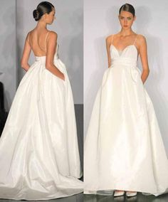 bridal gowns with pockets | Weiweis blog: wedding dress with pockets
