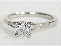 Simple Engagement Rings (62) #weddingring