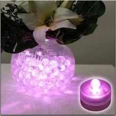 led rose pour vase - MARIAGE ORIGINAL
