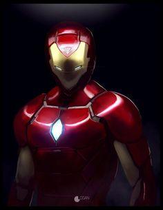 Iron Man by CharlesLogan on DeviantArt