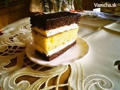 Lipské rezy (fotorecept) Russian Recipes, Tiramisu, Sweets, Baking, Ethnic Recipes, Desserts, Food, Cakes, Hampers