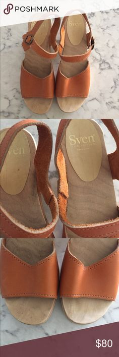Sven clog Sandal Worn once. Size 39 Sven Shoes Mules & Clogs