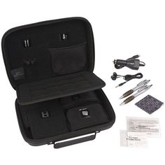 awesome Power A Ultimate Kit for Nintendo 3DS XL/3DS/DSi - Black  Sturdy Protective Case Has Special Pockets to Store 2 Full-Size Pen Styluses, Car Adapter, Ear Buds and Screen Protectors. Also stores up to 24 Game C... http://gameclone.com.au/accessories/cases-protectors/power-a-ultimate-kit-for-nintendo-3ds-xl3dsdsi-black/