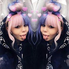 Nanami, Nu Goth, Best Youtubers, Queen, My Favorite Things, Black, Black People, Show Queen, All Black