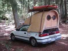 Electric Surfer Camper Pod and more by Jay Nelson – Art Car Central