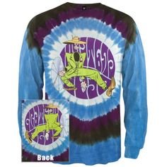 Grateful Dead – Shakedown Street Tie Dye Long Sleeve   Grateful Dead - Shakedown Street Tie Dye Long Sleeve Artwork inspired by Shakedown Street from the Grateful Dead highlights the front of this cotton long sleeve tee. Dyed in shades of blue and black, this is a must-have for any Dead fan!  http://www.beststreetstyle.com/grateful-dead-shakedown-street-tie-dye-long-sleeve/