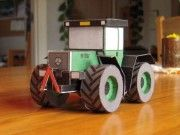 MB Trac Free Tractor Paper Model Download