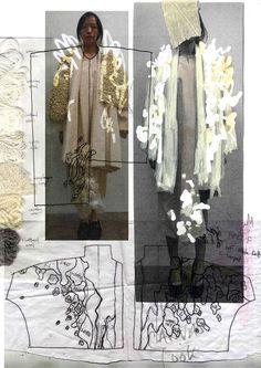 20 ideas for fashion portfolio design layout central saint martins Fashion Sketchbook, Fashion Sketches, Drawing Fashion, Sketchbook Layout, Sketchbook Inspiration, Sketchbook Ideas, Sketchbook Drawings, Design Inspiration, Fashion Collage