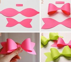 Easy Do-It-Yourself Paper Bows