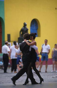 Tango en la calle Argentina