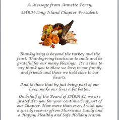 #thanksgiving #shrm #humanresources #hr #shrmli #longisland #holiday #president #recruiter #nonprofit