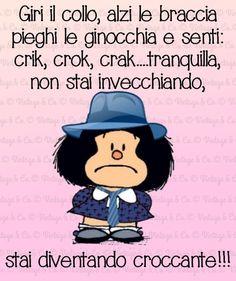 Fashion and Lifestyle Italian Language, Good Thoughts, Vignettes, Einstein, Haha, Funny Quotes, Happy Birthday, Jokes, Peanuts