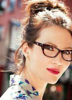 5ba6574533ec9 50+ Ideas Glasses Frames For Round Faces Geek Chic Glasses Frames Trendy