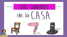 Jugamos a escuchar los sonidos de la casa_Discriminación sonidos Preschool Crafts, Literacy, Sons, Musicals, Spanish, Science, Youtube, Google, Cases
