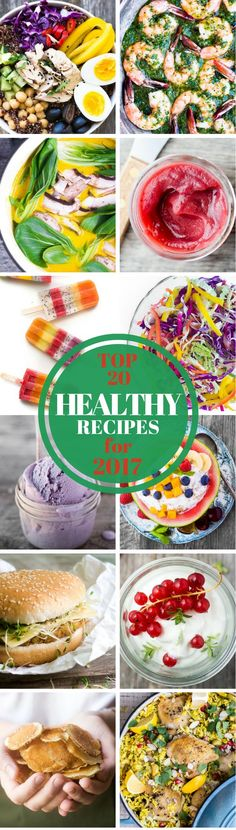 The Top 20 Best Healthy Recipes from TVFGI for 2017 ~ http://theviewfromgreatisland.com