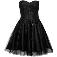 Laona Cocktail dress / Party dress ($130) ❤ liked on Polyvore featuring dresses, black, bustier dress, pattern dress, petticoat dress, short dresses and mixed print dress