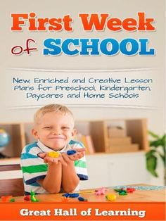 Over 45 pages of new, creative and enriched ideas for pre-school, kindergarten, daycares and home schools for the first week of school or a back to school theme.