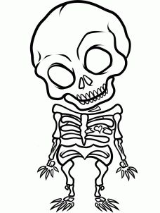 Tattoo simple skull coloring pages ideas Simple Skeleton Drawing, Skeleton Drawings, Halloween Drawings, Cute Drawings, Space Drawings, Tattoo Drawings, Skull Tattoos, Body Art Tattoos, Skull Coloring Pages