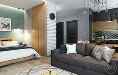 Studio Apartment by Solo Design Studio - DECOmyplace