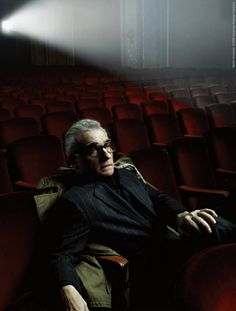 Incredible image. Martin Scorsese by Annie Lebovitz