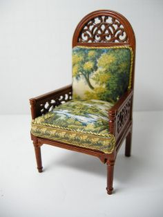 Miniature Chair~Image by Ken Haseltine Regent Miniatures