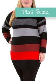 Jaime by BB Dakota Milton Plus Size Multicolor Sweater XD36494