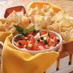 Zucchini Tomato Salsa Recipe