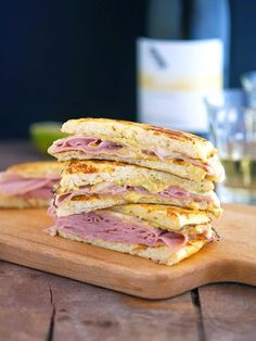 Cauliflower Crust Mortadella and Cheese Panini (Chopped Cooking Challenge)