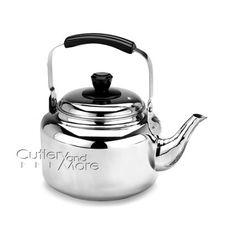 Demeyere Resto Stainless Steel Tea Kettle 4.2-quart