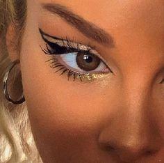 eyeshadow makeup trends makeup tutorial natural makeup remover makeup kaise kiya jata hai eyeshadow and brushes eyeshadow rack makeup box eyeshadow makeup on dark skin Makeup Trends, Makeup Inspo, Makeup Inspiration, Cute Makeup, Pretty Makeup, Edgy Makeup, 90s Makeup, Beautiful Eye Makeup, Gorgeous Eyes