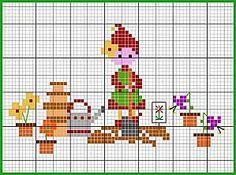 Elf in the garden