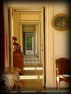 enfilade of country french home living room pinterest maisons de campagne fran aise. Black Bedroom Furniture Sets. Home Design Ideas