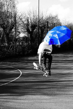 black white and blue photography | black and white, blue, cool, matti, photography - inspiring picture on ...
