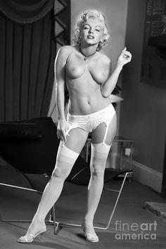 Monroe marilyn Naked of photos