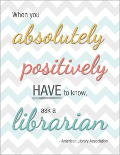 Librarian Quotes Print Collection by Nicole DeMetrick