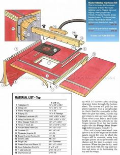 #2613 Extension Router Table Plans - Router