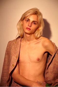 He really is the most beautiful boy in the world :D Andrej Pejic