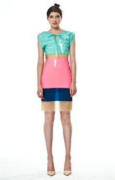 Colorblock Princess Dress