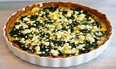 glutenfri paj Dory, Quiche, Zucchini, Healthy Lifestyle, Food And Drink, Vegetarian, Breakfast, Desserts, Free