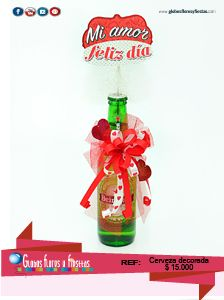 Globos, Flores y Fiestas Alcohol Gifts, Hot Sauce Bottles, Valentines Day, Candy, Christmas Ornaments, Halloween, Holiday Decor, Diy, Ideas Para