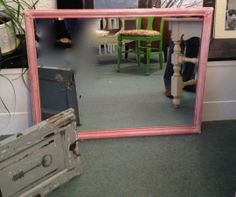 Dry Brushed Vintage Mirror $125.00. Available at Sweet Inspirations, 225 Farnsworth Ave, Bordentown, NJ 08505 (609) 424-3006. For more information or more pictures email info.Soldier58@gmail.com or SweetInspirations@gmail.com.