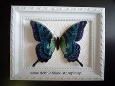 Debbie Blake - Swallowtail Framed  #SU  #Swallowtail