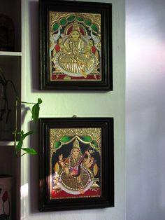 Karthik's Trip Down Memory Lane – neeharika raghuram – Karthik's Trip Down M… – Indian Living Rooms Indian Home Interior, Indian Home Decor, Indian Living Rooms, Cozy Living Rooms, Shoe Rack With Seat, Tanjore Painting, Pooja Rooms, Paint Stripes, Living Room Flooring