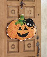 wooden pumpkin door hangers - Google Search