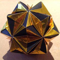 """Wedge Pockets Type-II by Tomoko Fuse #origami"" Photo taken by @zbheadless on Instagram, pinned via the InstaPin iOS App! http://www.instapinapp.com (02/20/2015)"