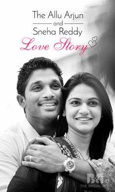The Allu Arjun And Sneha Reddy Love Story